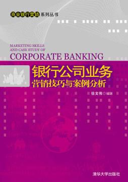 银行公司业务营销技巧与案例分析 徐文伟 清华大学出版社