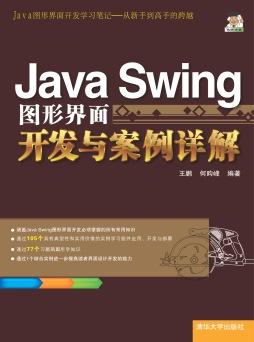 Java Swing图形界面开发与案例详解 王鹏, 何昀峰, 编著 清华大学出版社