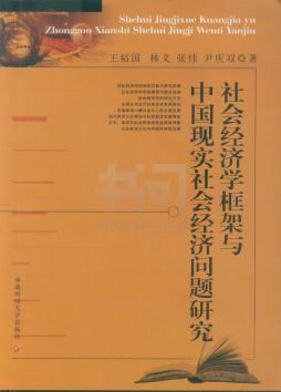 社会经济学框架与中国现实社会经济问题研究 王裕国著 西南财经大学出版社