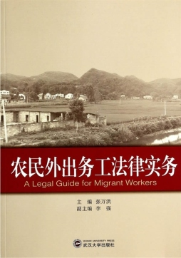 农民外出务工法律实务 张万洪 武汉大学出版社