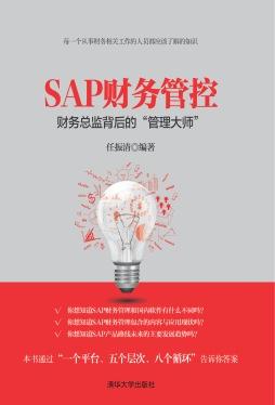 """SAP财务管控——财务总监背后的""""管理大师"""" 任振清, 编著 清华大学出版社"""