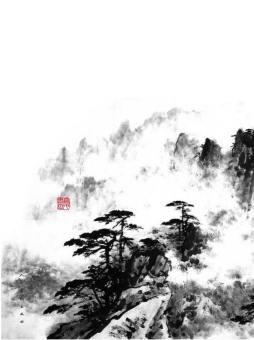 董寿平画辑  人民美术出版社