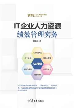 IT企业人力资源绩效管理实务 蒋海昌 清华大学出版社